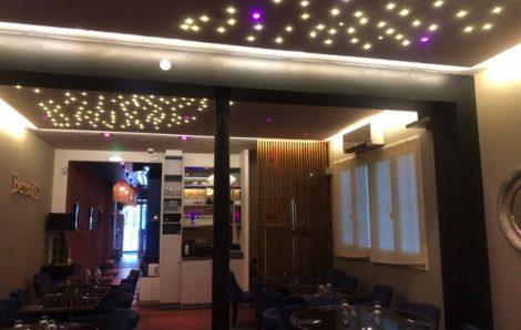 Création plafond lumineux pour restaurant 75008 Paris