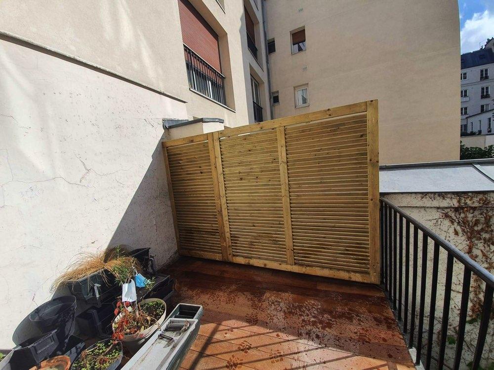 Création terrasse Paris 75010