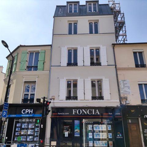 Ravalement immeuble Courbevoie 92
